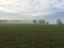 Имущество Holkham в тумане 1 Стоковые Фото