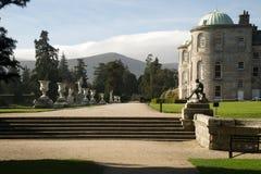Имущество Powerscourt, Enniskerry, графство Wicklow, Ирландия Стоковое фото RF