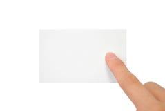 имя карточки Стоковые Фото
