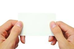 имя карточки Стоковое Изображение RF