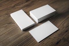 имя пустых карточек Стоковое Изображение RF