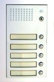 Имя whitout дверного звонока стоковые изображения