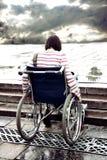 инвалидная женщина Стоковые Фото