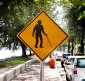 инвалидное движение знака Стоковые Изображения