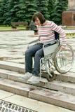 инвалидное спуска весьма стоковое фото rf