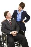 инвалидность дела Стоковая Фотография