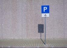 инвалидный знак людей Стоковое Изображение RF