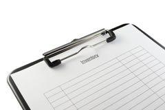 инвентарь clipboard Стоковая Фотография RF