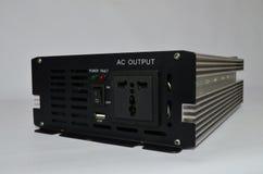 Инвертор, направленный ток новообращенного серии в переменный ток Стоковое Изображение