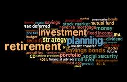 инвестировать выход на пенсию иллюстрация штока