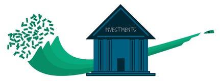 Инвестиционные деятельности банков Стоковая Фотография