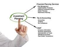 Инвестиционные планы Стоковые Фотографии RF