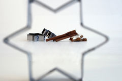 ингридиенты выпечки Стоковая Фотография RF
