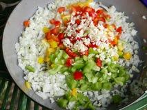 Ингридиенты для африканского блюда Стоковые Изображения RF
