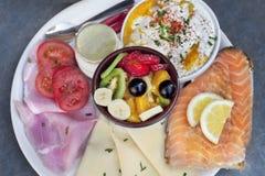 Ингридиенты для завтрак-обеда стоковое фото