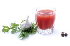 Ингридиенты для подготовки томата Стоковые Изображения RF