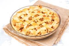 Ингридиенты для яблочного пирога Стоковая Фотография RF