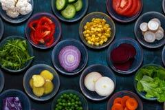ингридиенты еды здоровые стоковое изображение rf