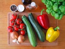 ингридиенты еды свежие Стоковая Фотография RF