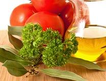 ингридиенты еды Стоковые Изображения RF