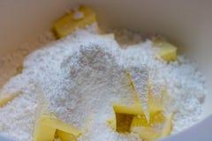 ингридиенты печений выпечки стоковая фотография