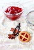 ингридиенты печений выпечки Стоковое Изображение