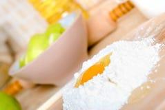 ингридиенты торта Стоковая Фотография RF
