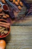 ингридиенты выпечки стоковое фото rf