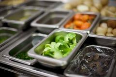 Ингридиенты кухни ресторана Стоковые Фото