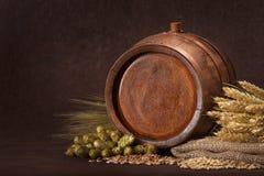 Ингридиенты пива стоковое изображение