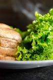 Ингридиенты сандвича Стоковые Фото