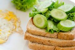 Ингридиенты сандвича Стоковая Фотография RF