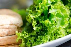 Ингридиенты сандвича Стоковая Фотография