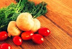Ингридиенты для еды Стоковая Фотография RF
