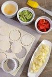 Ингридиенты для печь плюшки Стоковые Фото