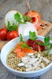 Ингридиенты для супов Стоковые Фотографии RF