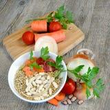 Ингридиенты для супов Стоковая Фотография RF