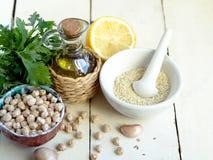 Ингридиент Hummus Стоковая Фотография