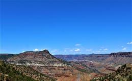 Индейская резервация San Carlos апаша, Gila County, Аризона, Соединенные Штаты стоковая фотография