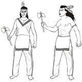индейцы Стоковые Изображения