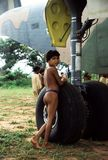 Индейцы Yanomami - амазонское Стоковое Изображение