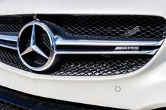 Индианаполис - около март 2018: Дилерские полномочия IV Мерседес-Benz Стоковые Изображения