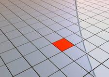 индивидуальность кубика один красный цвет бесплатная иллюстрация