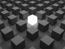 индивидуальность принципиальной схемы Стоковые Фото