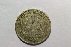 Индийская валюта года сбора винограда Анна чарса стоковые изображения