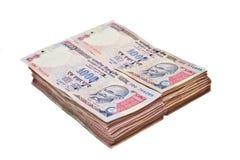 Индийская валюта Стоковое Изображение