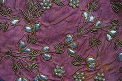 Индийская деталь заплатки, традиционные ремесла стоковая фотография rf