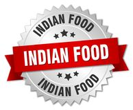 Индийская еда иллюстрация вектора