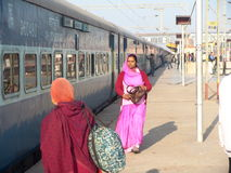 Индийская железная дорога Стоковое Изображение