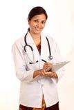 Индийская женщина доктора Стоковое фото RF